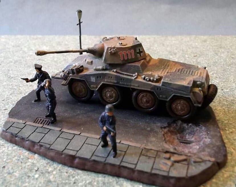 (Chrono 21) - (Matchbox) - Sdkfz 234/2 Puma. 96853210