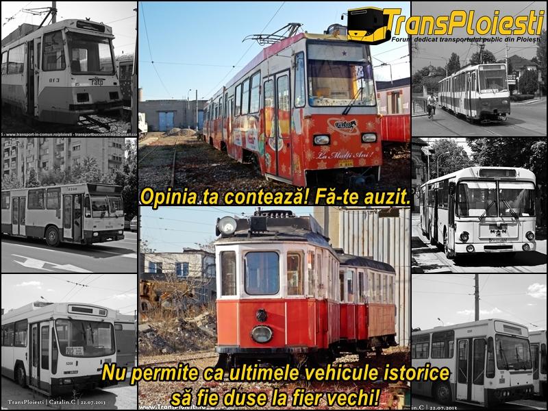 Salvarea ultimelor vehicule istorice de transport public electric din Ploiești Page2b10