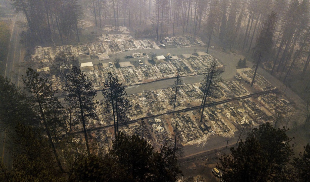 EEUU. Incendios. California: 230.000 personas evacuadas. 15425310