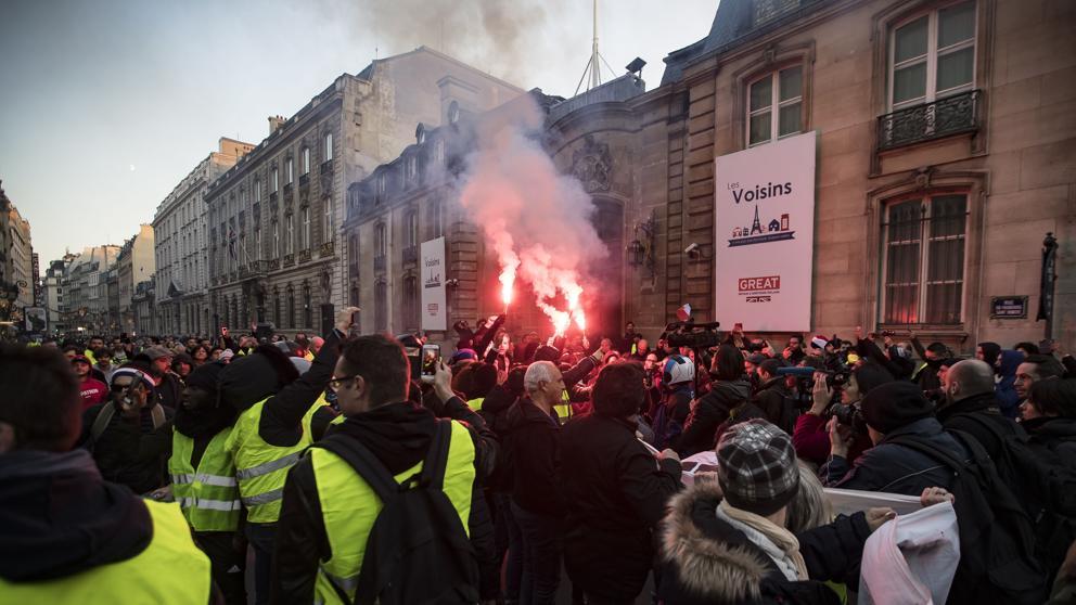 Francia. Capitalismo, luchas y movimientos.   - Página 12 20181110