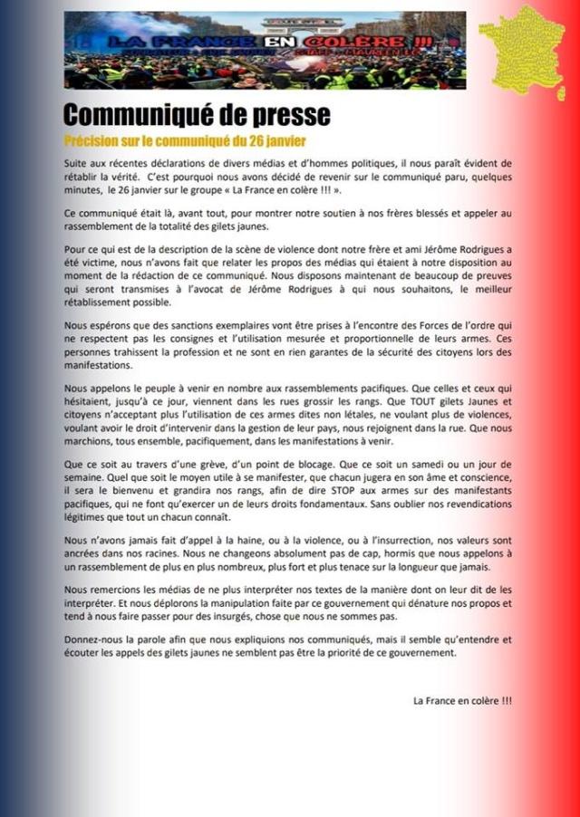 Sobre el movimiento de los chalecos amarillos en Francia. Crítica necesaria a NC y otros grupos. Valoraciones e informaciones - Página 5 50875310