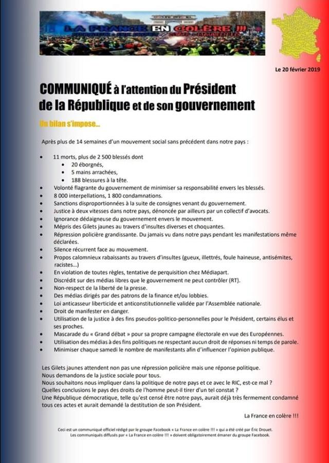 Sobre el movimiento de los chalecos amarillos en Francia. Crítica necesaria a NC y otros grupos. Valoraciones e informaciones - Página 6 52469010