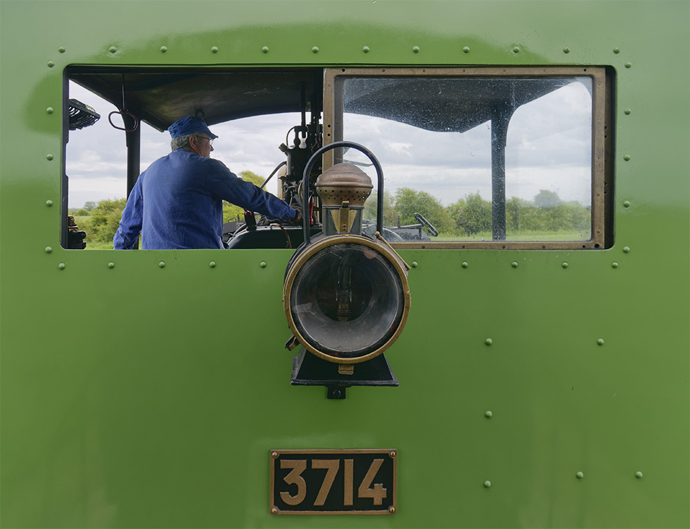 Chemin de fer de la baie de Somme, la loco 3714 Chemin12
