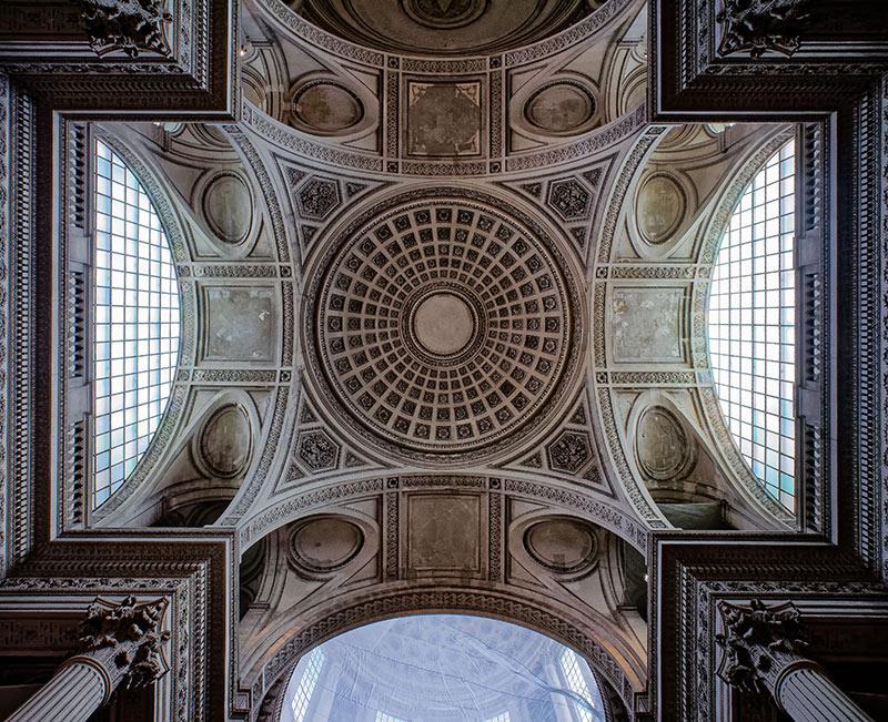 Panthéon, coupole P1000811