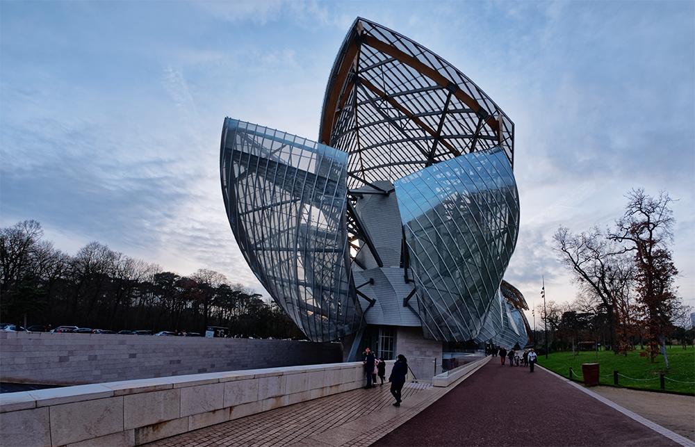 [Architecture_et_Graphisme] Fondation Vuitton, arrière P1060710