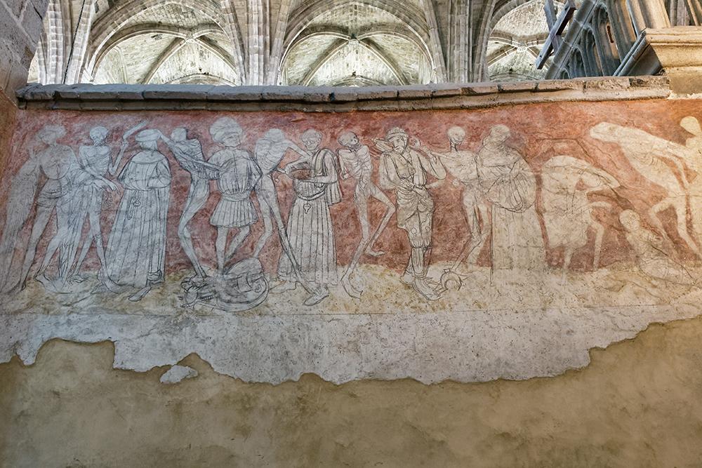 La danse macabre de l'Abbaye de la Chaise-Dieu P1090031