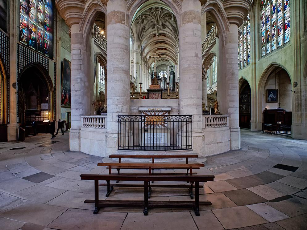 Saint-Étienne-du-Mont, déambulatoire Saint-12
