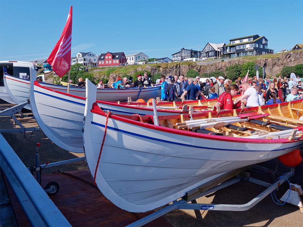 [Sport] Torshavn, fête nationale, courses de bateaux Torsha16