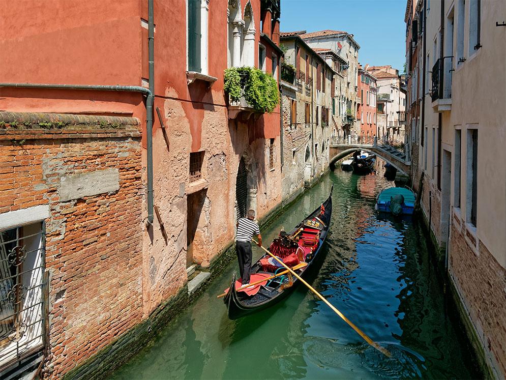 Venise, gondola Venise14