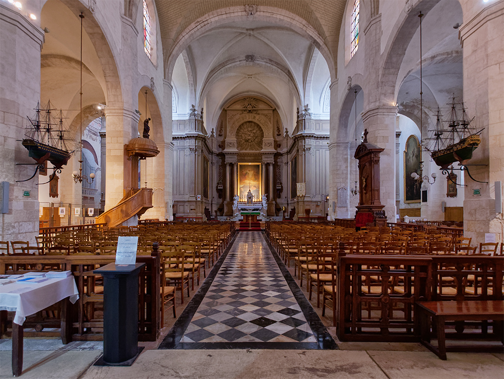 Église Saint-Sauveur de La Rochelle, la nef Zoglis11