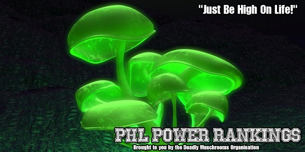 PHL POWER rankings Shroom10