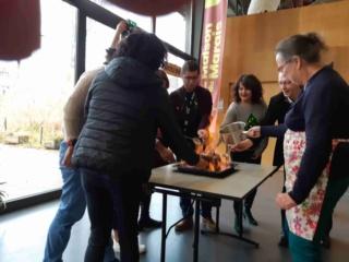 Les polyglottes  fêtent Noêl à la maison du marais le 15 Décembre 2019 20191210