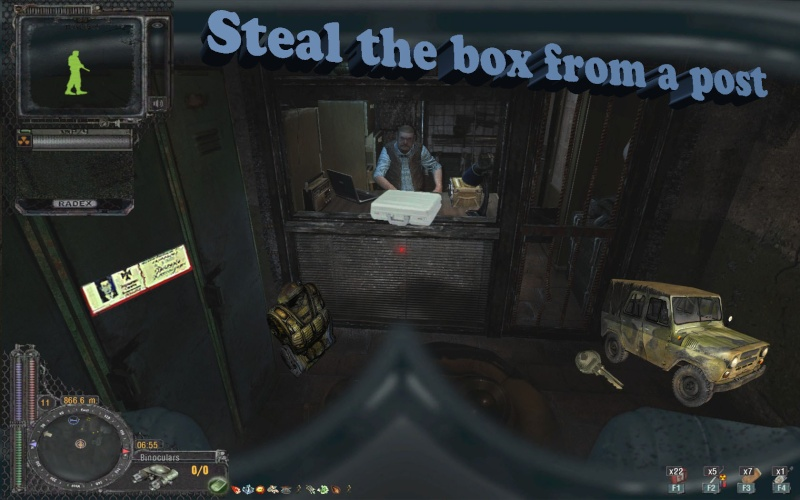 Steal the box from a outpost Introo10