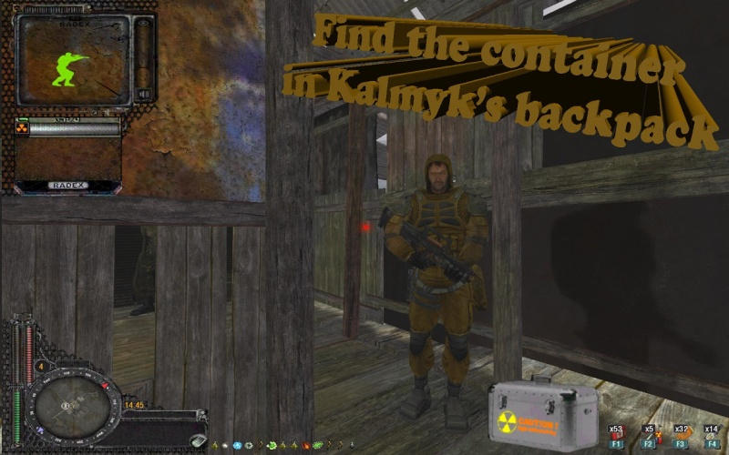 Find the container in kalmyk's backpack Xr_3da26