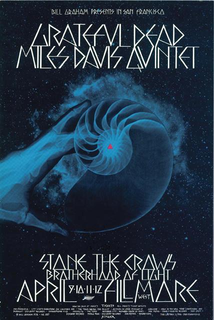 Grateful Dead - Affiches 19700410
