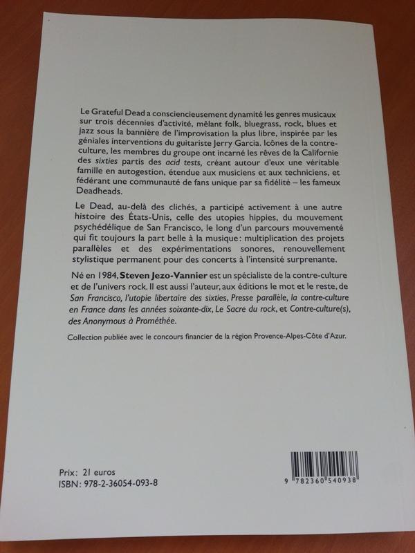 Grateful Dead - Livre - Steven JEZO-VANNIER (2013) 20130623