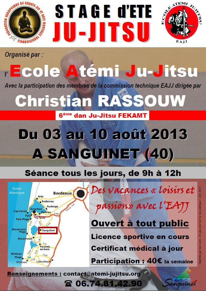 Août 2013 - Stage d'été à Sanguinet (40) Stage_10
