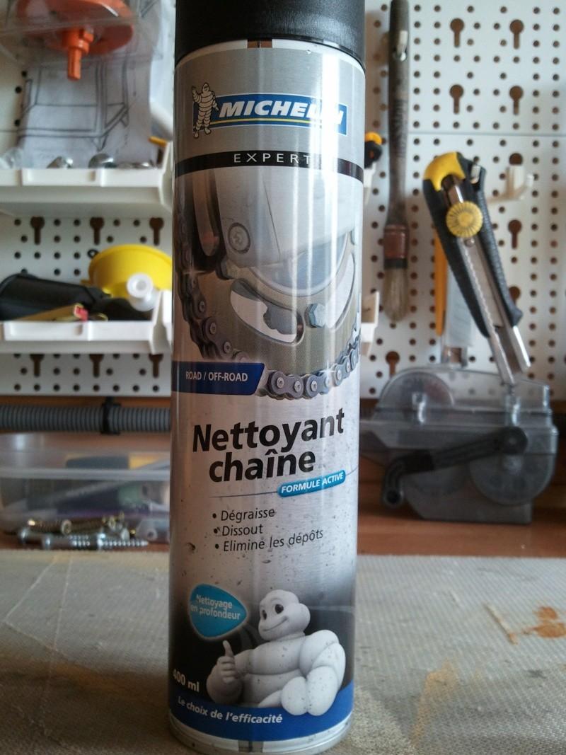nettoyant chaîne Michelin  et lubrifiant profi dry lube 20130610