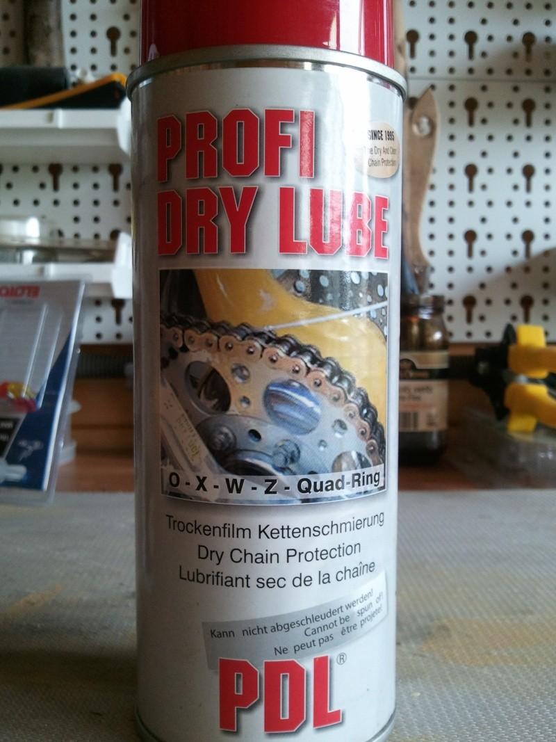 nettoyant chaîne Michelin  et lubrifiant profi dry lube 20130611