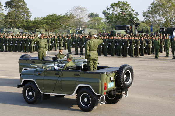 Armée Cubaine / Cuban Revolutionary Armed Forces Cuba110