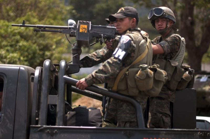 Les forces armées du Guatemala / Military of Guatemala / Ejército de Guatemala Ga110