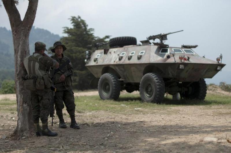 Les forces armées du Guatemala / Military of Guatemala / Ejército de Guatemala Ga310