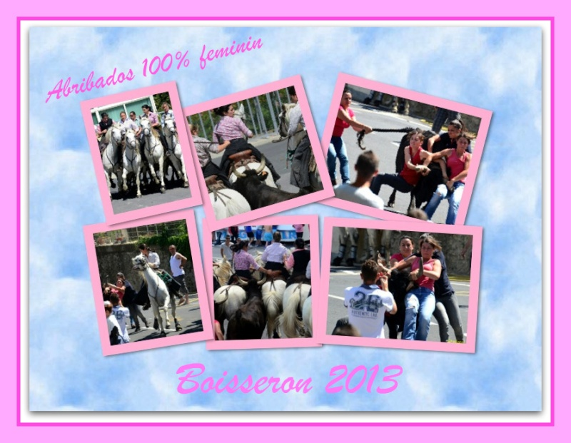 abrivados 100% feminine ( manade Lafon ) Boisseron 22/06/2013  Titre12