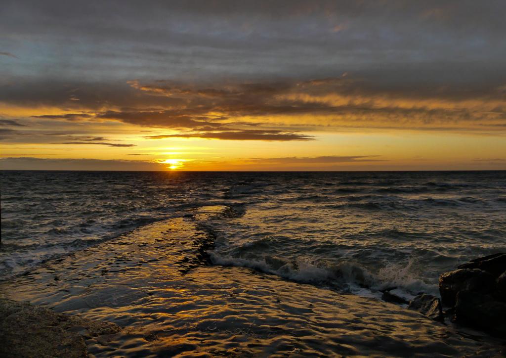 coucher de soleil de ce soir  Couche12