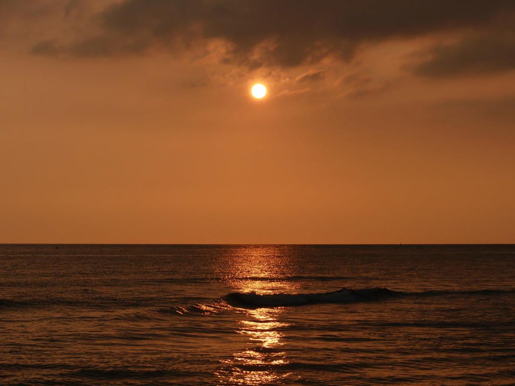 Coucher de soleil  P1250110