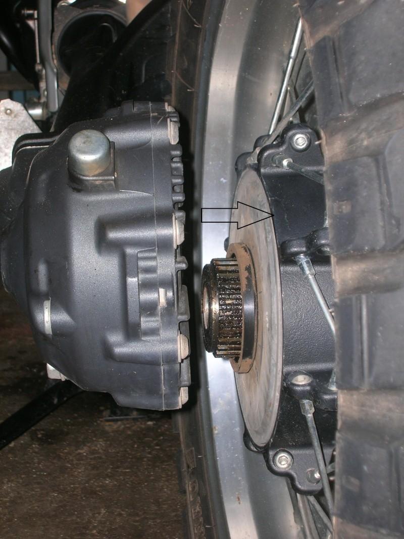 Démontage roue avant ET roue arrière ST 1200 en photos 00114
