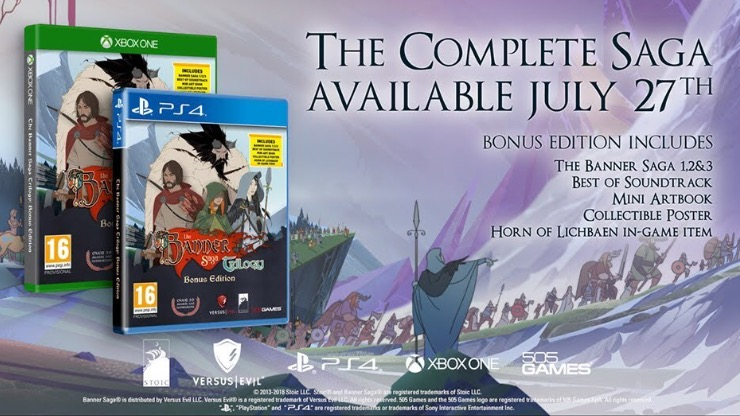 The Banner Saga Trilogy 5ecad410