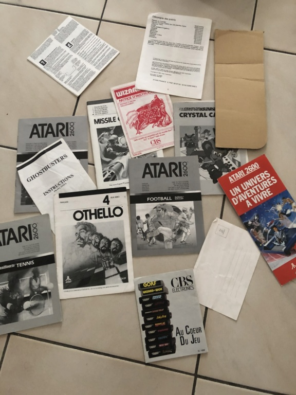 EST : Lot Atari 2600 en boîte + jeux 9c43cc10