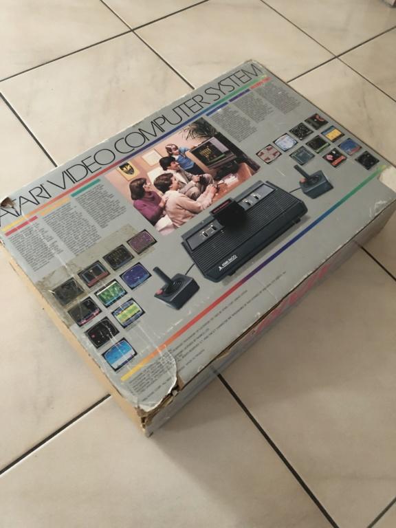 EST : Lot Atari 2600 en boîte + jeux Aab4f210