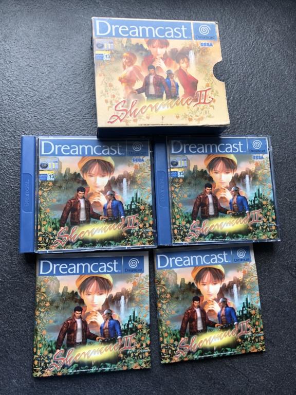 Vends : Shenmue 2 Dreamcast complet  Daf67710