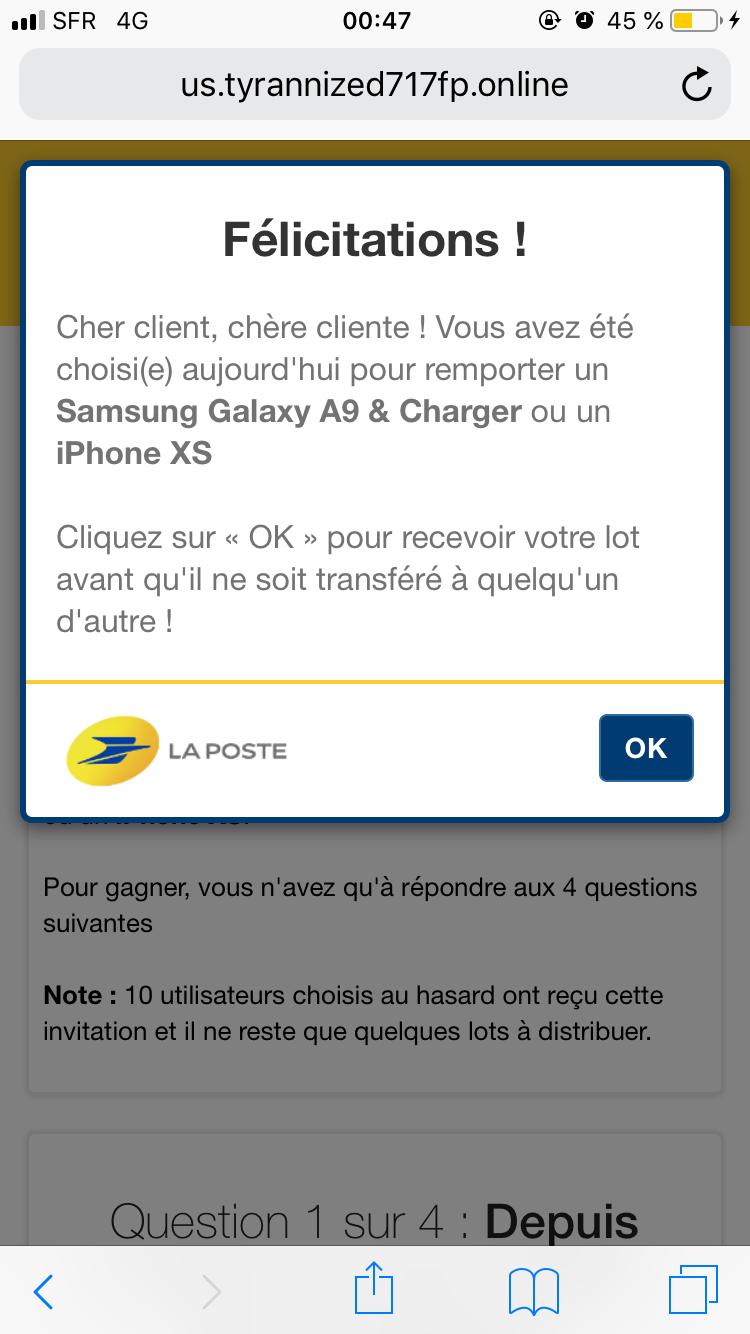 Help - forum gamopat infesté et redirection vers des pubs sur mon  Iphone F829b510