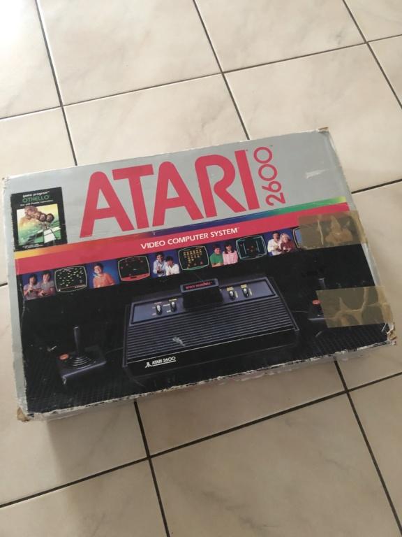 EST : Lot Atari 2600 en boîte + jeux Fdefb510
