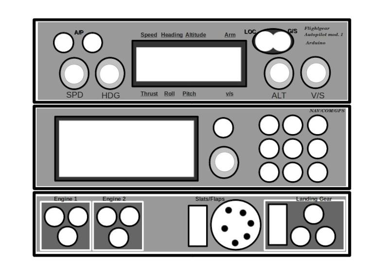 Cockpit virtuel  :  Quelle est votre configuration ? - Page 2 Layout11