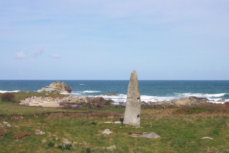 Menhir de Cam Louis ( Finistère nord ) Dcp_0110