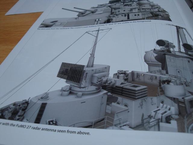 1:72nd Scale German WW2 Heavy Cruiser DKM Prinz Eugen Dsc04450