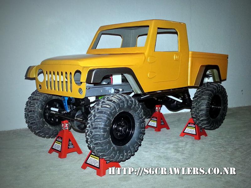 build - Boolean21's AEV Jeep Brute 1/10 scratch build - Page 3 20130419