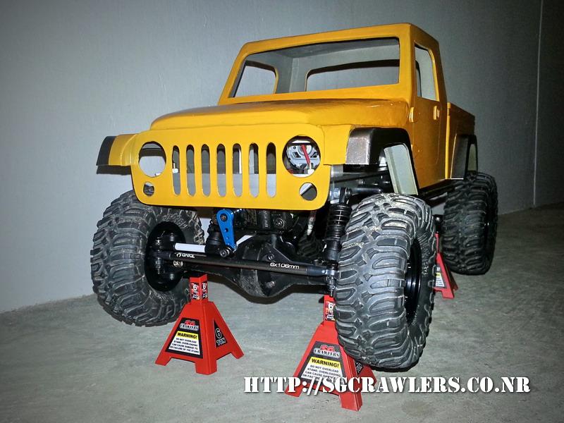 build - Boolean21's AEV Jeep Brute 1/10 scratch build - Page 3 20130422