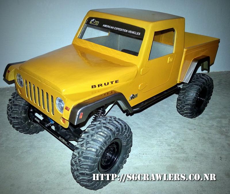 build - Boolean21's AEV Jeep Brute 1/10 scratch build - Page 3 20130515