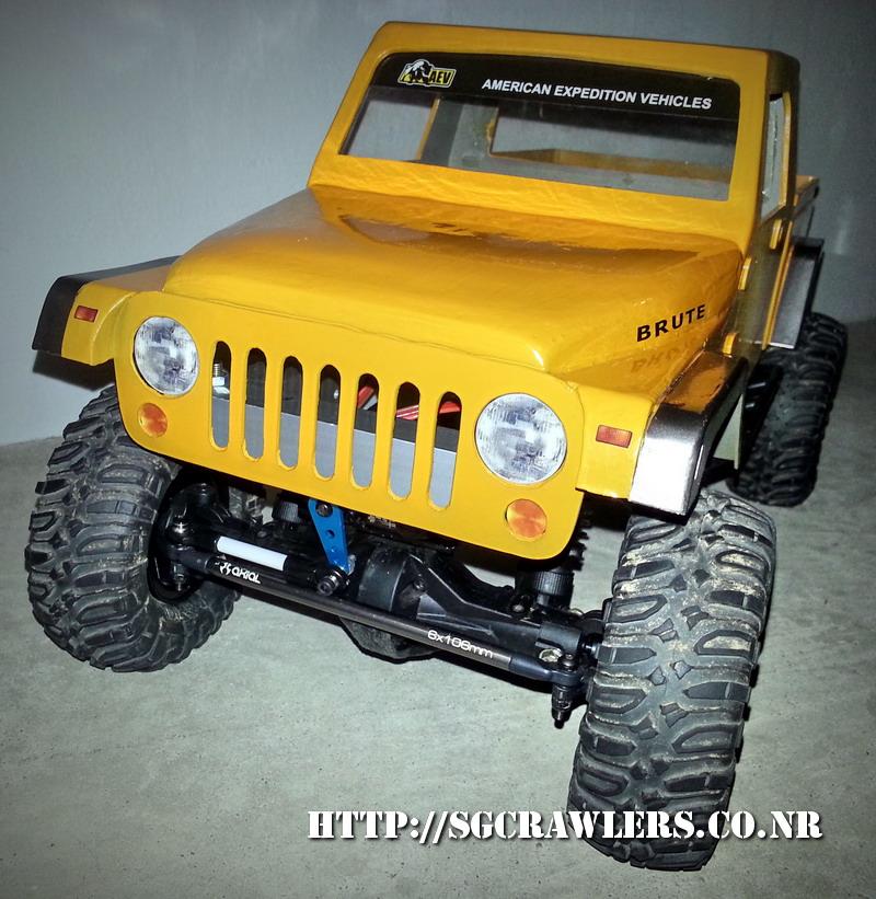 build - Boolean21's AEV Jeep Brute 1/10 scratch build - Page 3 20130517