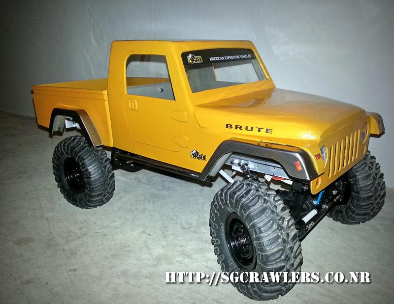 build - Boolean21's AEV Jeep Brute 1/10 scratch build - Page 3 20130521