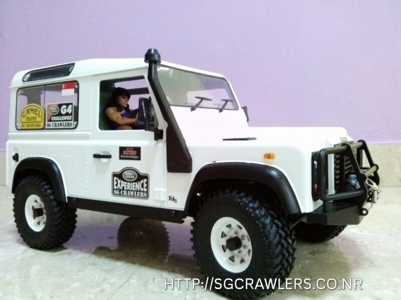 rover - Slow's White Land Rover D90 Cam02810