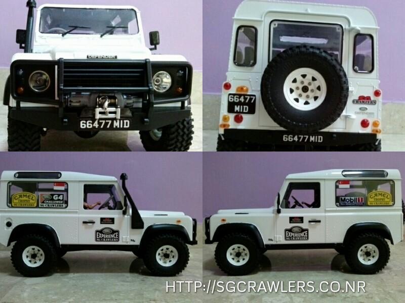 rover - Slow's White Land Rover D90 Picsar17