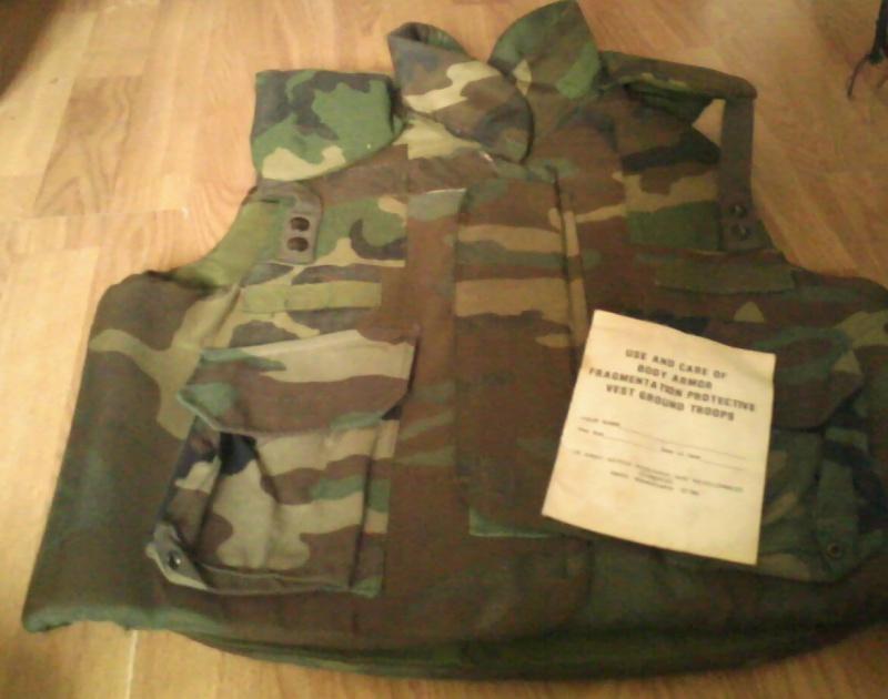 PASGT fragmentation vest  05091210
