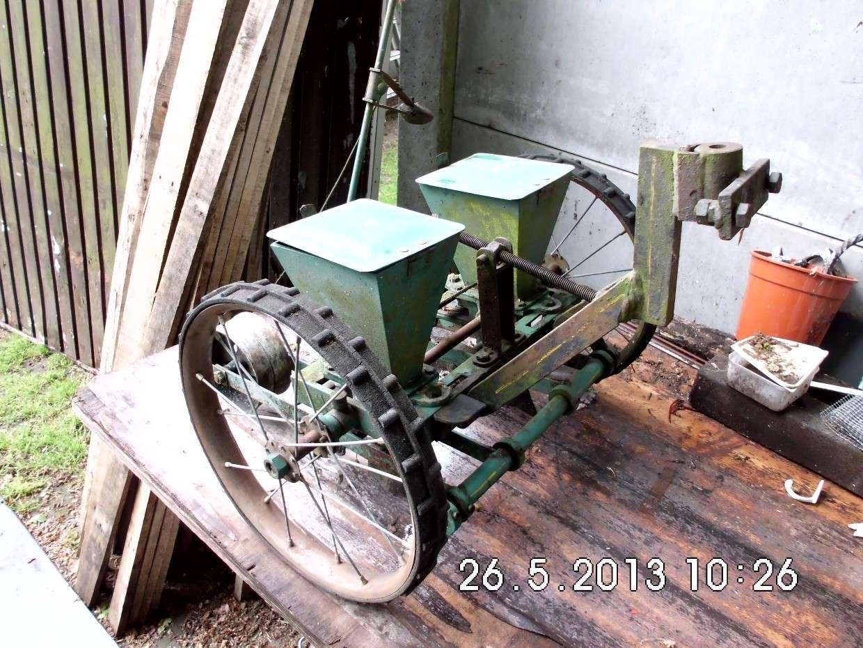 Fabrication porte outils pour butoirs Semoir10