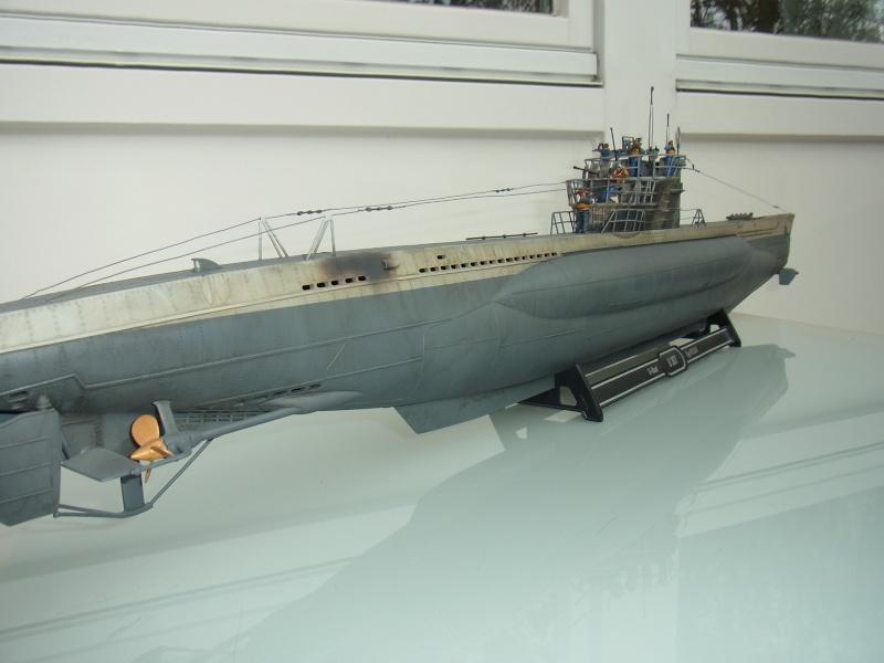 Mein U-Boot VII C 41 in 1:72 von Revell mit Figuren von Hecker & Goros Rimg0011