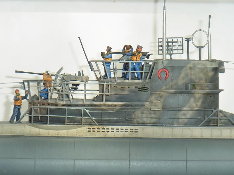 Mein U-Boot VII C 41 in 1:72 von Revell mit Figuren von Hecker & Goros Rimg0013